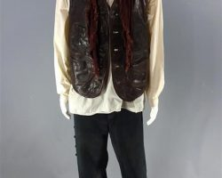 MAGNIFICENT 7 VASQUEZ MANUEL GARCIARULFO SCREEN WORN STUNT COWBOY COSTUME SC30