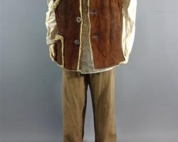 MAGNIFICENT 7 JACK HORNE SCREEN WORN STUNT DOUBLE VEST SHIRTS PANTS & SHOES