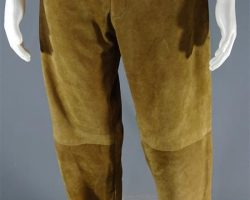 MAGNIFICENT 7 RED HARVEST MARTIN SENSMEIER PRODUCTION WORN PANTS & BONUS SHIRT