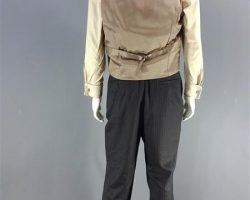MAGNIFICENT 7 BOGUE PETER SARSGAARD SCREEN WORN VEST SHIRT PANTS & CUFFLINK CH 3