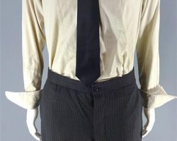 MAGNIFICENT 7 BOGUE PETER SARSGAARD WORN COAT VEST SHIRT PANTS TIE & LINKS CH 3