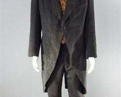 MAGNIFICENT 7 BOGUE PETER SARSGAARD WORN COAT VEST SHIRT PANTS TIE & LINKS CH 3