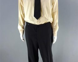 MAGNIFICENT 7 BOGUE PETER SARSGAARD SCREEN WORN SHIRT PANTS & TIE CH 2 SC 72