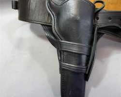 MAGNIFICENT 7 CHISOLM PROTOTYPE GUN HOLSTER BELT RIFLE HOLSTER HORSE PACK