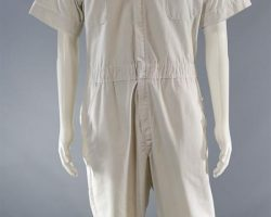 BABY DRIVER BABY ANSEL ELGORT SCREEN WORN JUMPSUIT SHIRT & SHOES CH 16