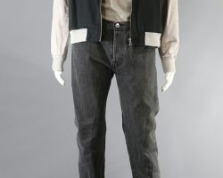 BABY DRIVER BABY ANSEL ELGORT STUNT JACKET SHIRT PANTS & SHOES CH 11 SC 64 -66