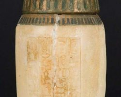 Canopic jar from The Mummy and The Mummy Returns