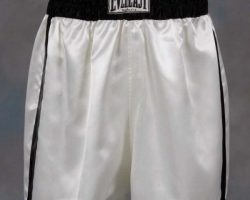 Will Smith Muhammad Ali boxing trunks from Ali