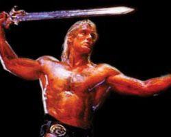 Hero He-Man sword from Masters of the Universe