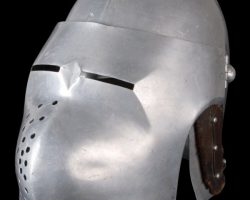 Ingrid Bergman battle helmet from Joan of Arc