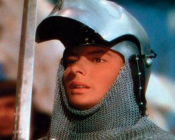 Ingrid Bergman battle helmet from Joan of Arc