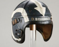 William Holden jet helmet from Bridges at Toko-Ri