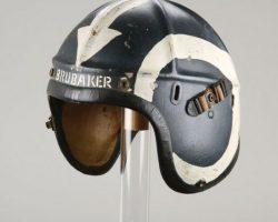 William Holden jet helmet from Bridges at Toko-Ri