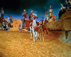 Full-scale Egyptian chariot – The Ten Commandments