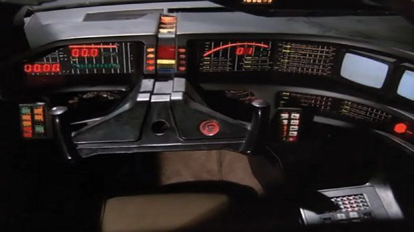 K I T T  switchpod and panel buttons from Knight Rider