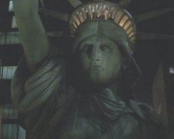 Prop Statue of Liberty bust from Ghostbusters 2