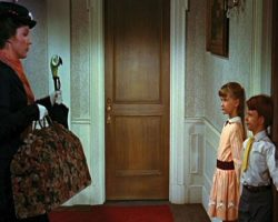 Julie Andrews Mary Poppins signature carpet bag