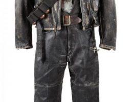 Arnold Schwarzenegger T-800 costume from Terminator 2