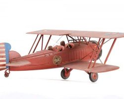 Art Archive & Biplane Filming miniature from King Kong