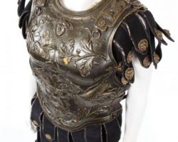 Ferdy Mayne complete cuirass & helmet from Ben-Hur