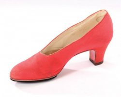 Judy Garland rehearsal shoe from The Wizard of Oz