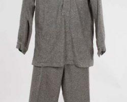 Steve McQueen 2-pc prisoners uniform from Papillon