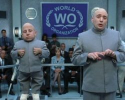 Dr. Evil signature grey suit from Austin Powers