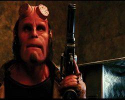 Ron Perlman Hellboy hero Samaritan pisol from Hellboy