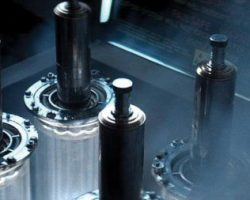 Four Nostromo detonator activation bolts from Alien
