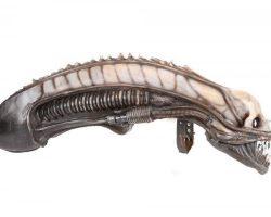 Original Alien Creature head by H.R. Giger from Alien