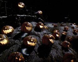 Animated & static pumpkins – Nightmare Before Christmas
