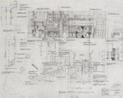 Blade Runner original plans & elevations of NY street