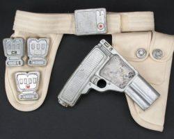 Laser gun, holster & ammo belt from Last Starfighter