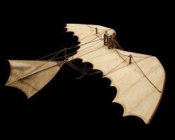 Da Vinci glider flown by Bruce Willis in Hudson Hawk