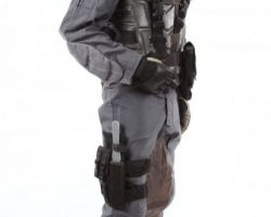 Complete trooper costume from Starship Troopers