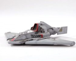 Miniature TAC fighter model from Starship Troopers