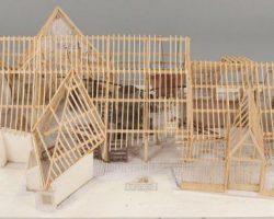 Model of Dr. Frankensteins lab from Frankenstein