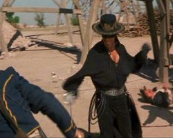 Antonio Banderas bullwhip from The Mask of Zorro