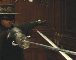 Antonio Banderas Zorro sword from The Legend of Zorro