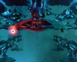 Independence Day docking port for alien fighter craft