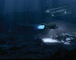 Escape from L.A. 6 ft. miniature Shark 3 hero submarine