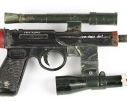 Pistol from Alien, Used in the Derelict Ship Scene.