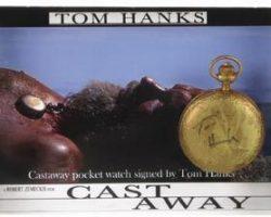 Tom Hanks stunt pocket watch from Cast Away
