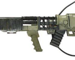 Arnold Schwarzenegger Rail Gun from Eraser