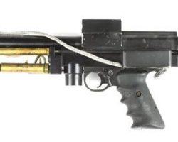 Pistol from Johnny Mnemonic