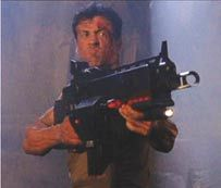 Sylvester Stallone rifle from Judge Dredd