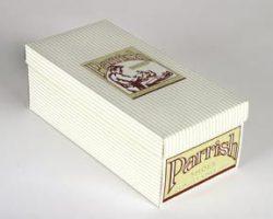 Prop Parrish sneakers & shoebox – Jumanji