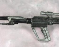 Skeletor rifle from Masters of the Universe