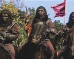 Beneath the Planet of the Apes gorilla gun