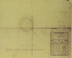 Jupiter 2 blueprints from Lost in Space